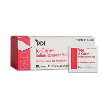 Io-Gone Iodine Removal Wipe Professional Disposables B47000