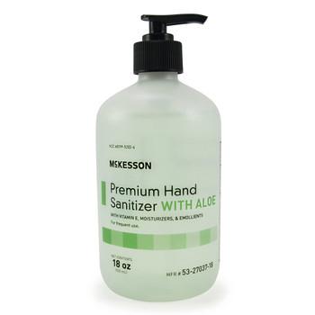 McKesson Premium Hand Sanitizer with Aloe McKesson Brand 53-27037-18