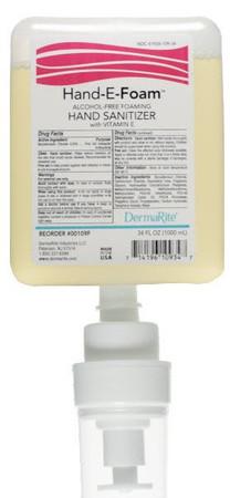 Hand-E-Foam Alcohol-Free Hand Sanitizer DermaRite Industries 00109F