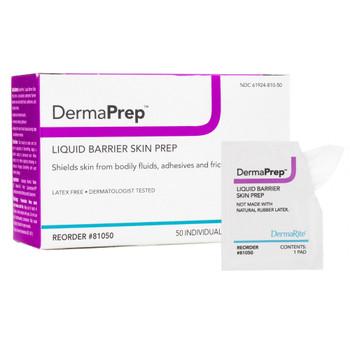 DermaPrep Skin Barrier Wipe DermaRite Industries 81050