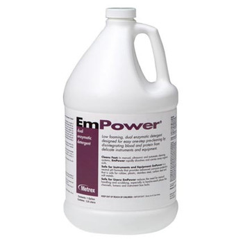 EmPower Dual Enzymatic Instrument Detergent Metrex Research 10-4100