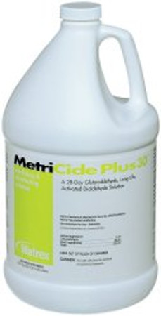 MetriCide Plus 30 Glutaraldehyde High-Level Disinfectant Metrex Research 10-3200