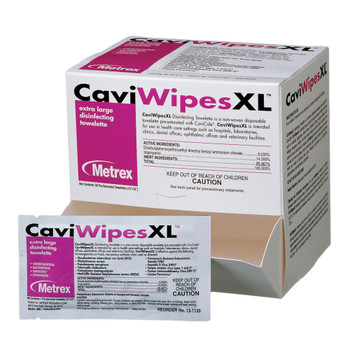 CaviWipes Surface Disinfectant Metrex Research 13-1155