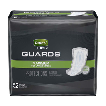 Depend Guards for Men Bladder Control Pad Kimberly Clark 13792