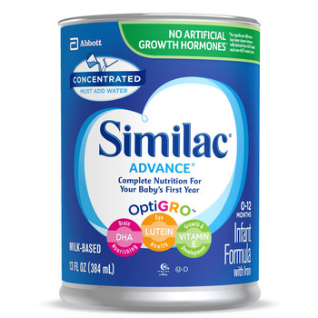 Similac Advance 20 Infant Formula Abbott Nutrition