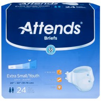 Attends Incontinence Brief Attends Healthcare Products BRBX10