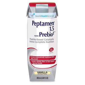 Peptamen 1.5 with Prebio 1 Oral Supplement / Tube Feeding Formula Nestle Healthcare Nutrition 10043900349586