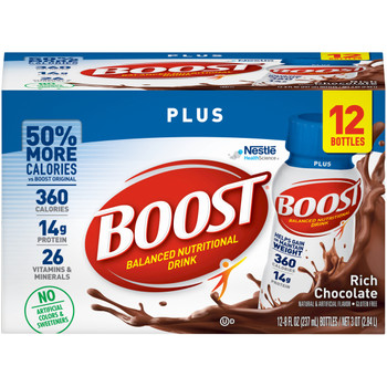 Boost Plus Oral Supplement Nestle Healthcare Nutrition