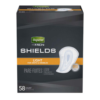 Depend Guards for Men Bladder Control Pad Kimberly Clark 35641