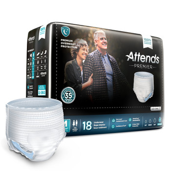 Attends Premier Absorbent Underwear Attends Healthcare Products ALI-UW