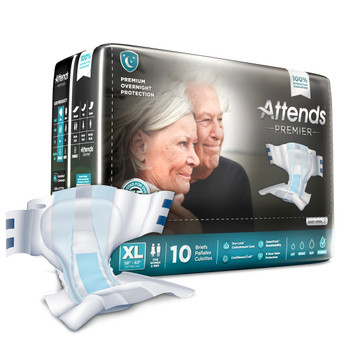 Attends Premier Incontinence Brief Attends Healthcare Products ALI-BR