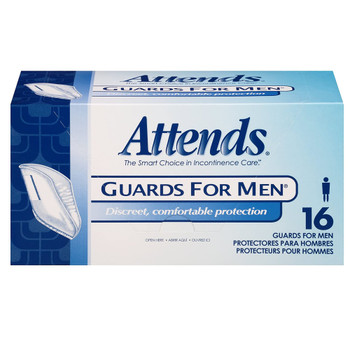 Attends Guards For Men Bladder Control Pad Attends Healthcare Products MG0400