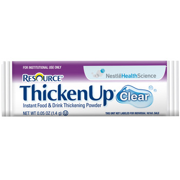 Resource Thickenup Clear Food and Beverage Thickener Nestle Healthcare Nutrition 4390015193