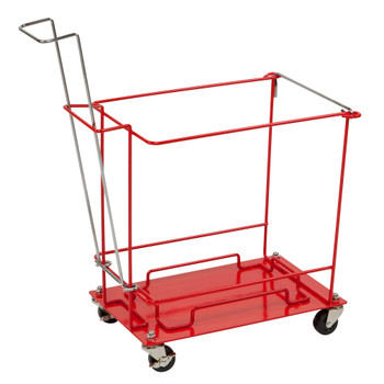 SharpSafety Sharps Container Floor Cart Cardinal 8992H
