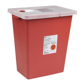 SharpSafety Sharps Container Cardinal 8980-