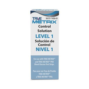 True Metrix Blood Glucose Control Solution Nipro Diagnostics R5H01-1