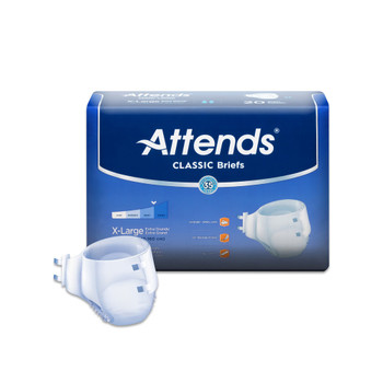 Attends Classic Incontinence Brief Attends Healthcare Products BRB4096