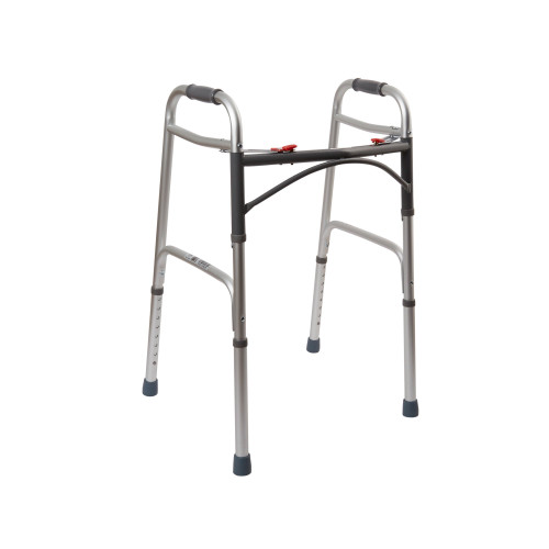 drive Deluxe Dual Release Folding Walker Drive Medical 10200-1