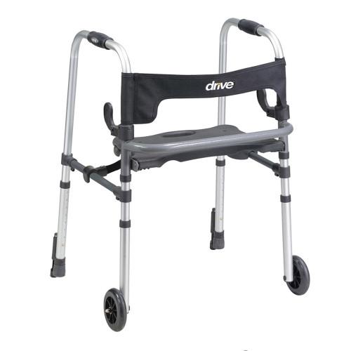 Clever-Lite LS Dual Release Folding Walker Drive Medical 10233