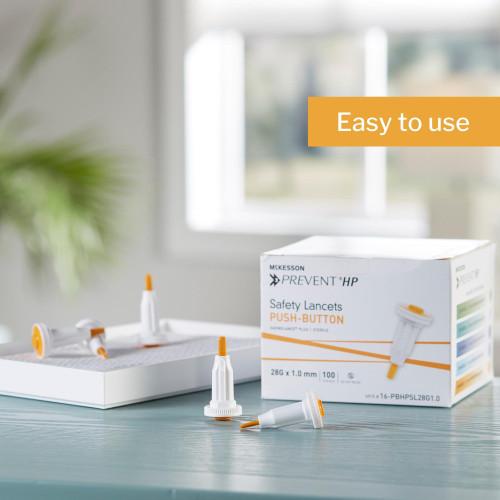 McKesson Prevent Lancet McKesson Brand