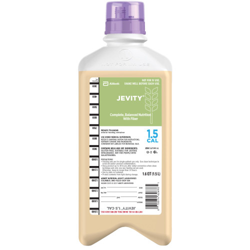 Jevity 1.5 Cal Tube Feeding Formula Abbott Nutrition