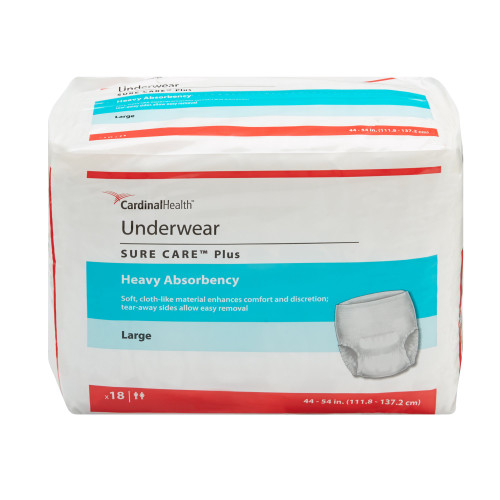 Sure Care Plus Absorbent Underwear Cardinal 1605