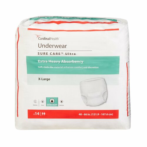 Sure Care Ultra Absorbent Underwear Cardinal -1430