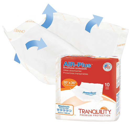 Tranquility AIR-Plus Low Air Loss Underpad Principle Business Enterprises 2710