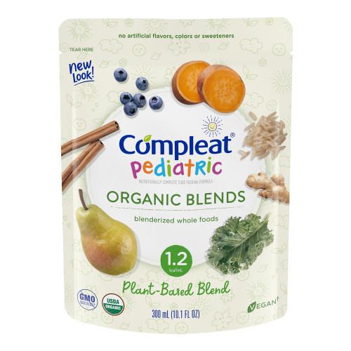 Compleat Pediatric Organic Blends Pediatric Oral Supplement / Tube Feeding Formula Nestle Healthcare Nutrition