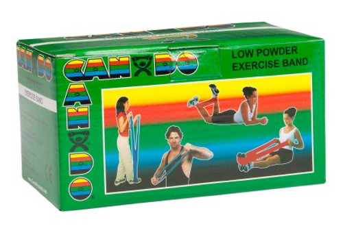 CanDo Low Powder Exercise Resistance Band Fabrication Enterprises 10-5213