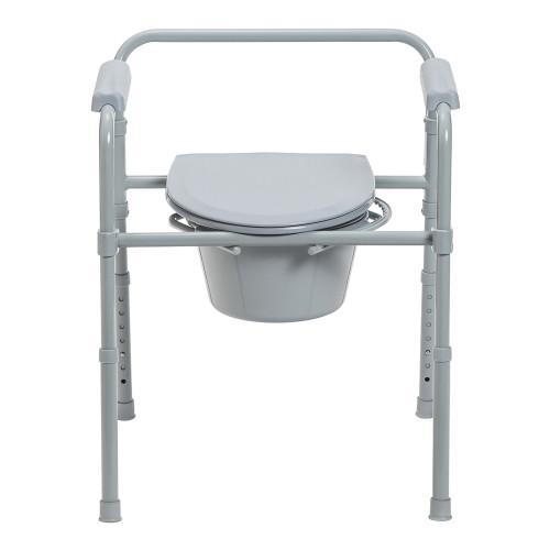 McKesson Folding Commode Chair McKesson Brand 146-11148-1