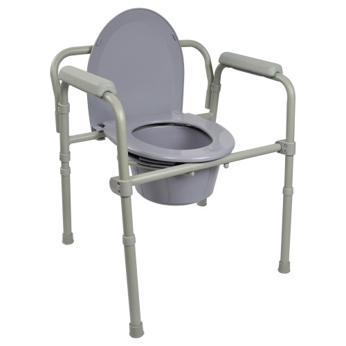 McKesson Folding Commode Chair McKesson Brand 146-11148-1
