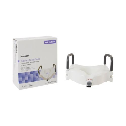 McKesson Raised Toilet Seat McKesson Brand 146-RTL12027RA
