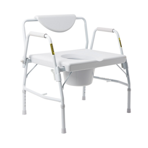 McKesson Bariatric Commode Chair McKesson Brand 146-11135-1