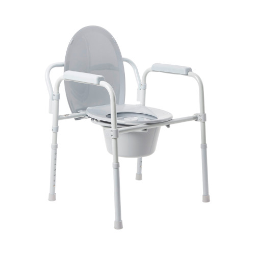 McKesson Folding Commode Chair McKesson Brand 146-11148N-4