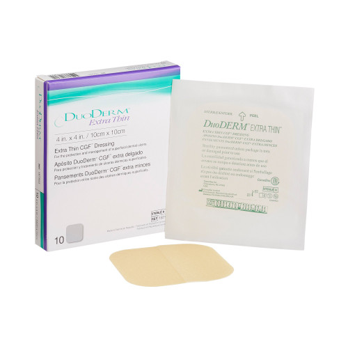 DuoDERM Extra Thin Hydrocolloid Dressing Convatec