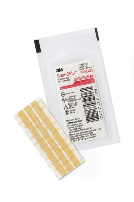 3M Steri-Strip Antimicrobial Skin Closure Strip 3M