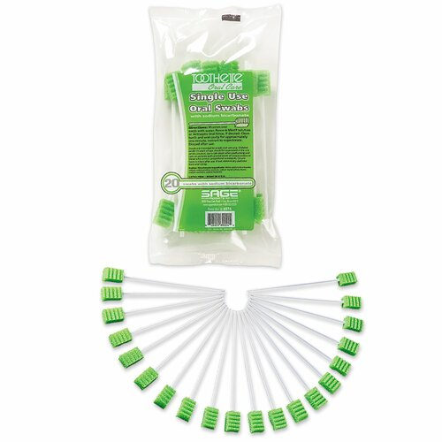 Toothette Plus Oral Swabstick Sage Products 6076