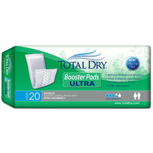 TotalDry Ultra Incontinence Booster Pad Secure Personal Care Products SP1900