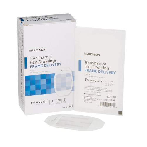McKesson Transparent Film Dressing McKesson Brand