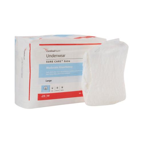 Simplicity Extra Absorbent Underwear Cardinal 1840R