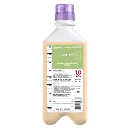 Jevity 1.0 Cal Tube Feeding Formula Abbott Nutrition 62685
