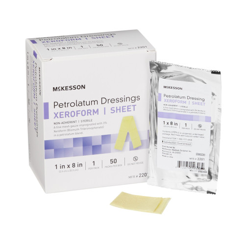 McKesson Xeroform Petrolatum Dressing McKesson Brand