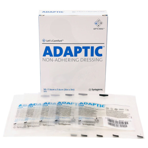 Adaptic Impregnated Non-Adherent Dressing Systagenix Wound Management