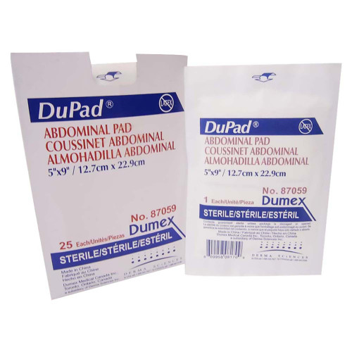 DuPad Abdominal Pad Derma Sciences