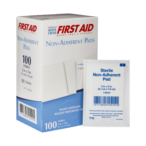 American White Cross First Aid Non-Adherent Dressing Dukal