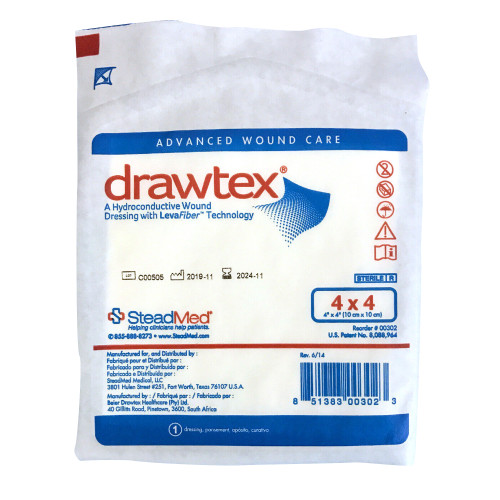 Drawtex Non-Adherent Dressing Urgo Medical North America LLC 302