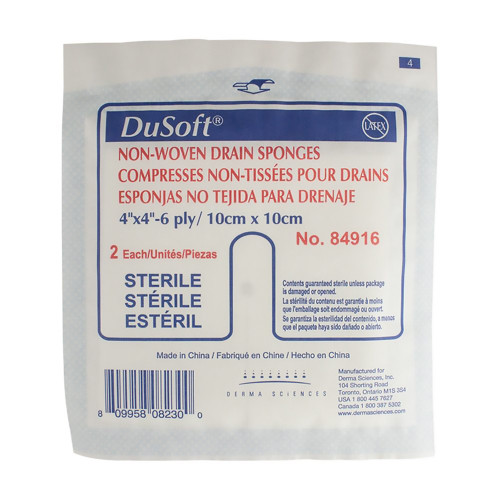 Dusoft I.V. / Drain Split Dressing Derma Sciences