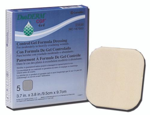 DuoDERM CGF Hydrocolloid Dressing Convatec
