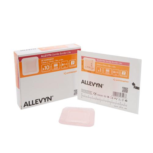 Smith & Nephew Allevyn Gentle Border Lite Thin Silicone Foam Dressing Smith & Nephew 66800833